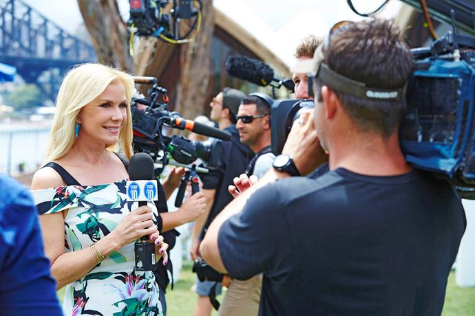 Katherine has worked with *Studio 10* during her visits to Australia (Image: Network 10).