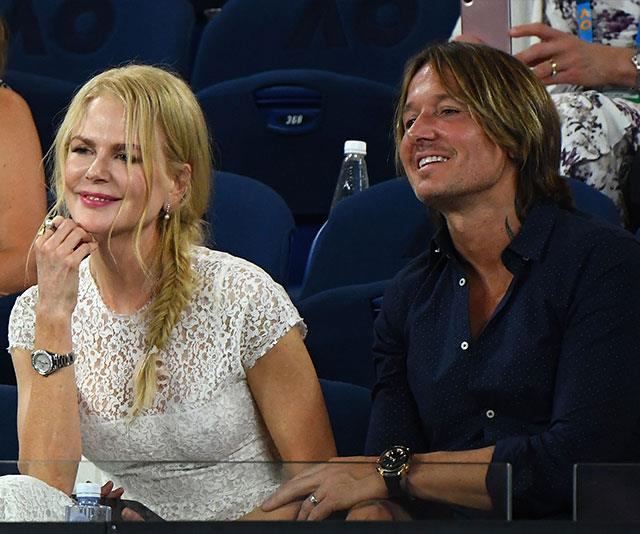 It's love all for Aussie royalty Nicole Kidman and Keith Urban. *(Image: Getty)*
