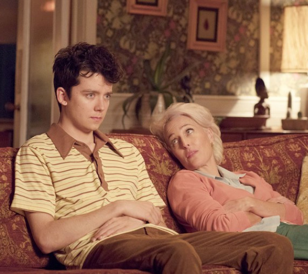 Sex therapist jean and her adorably nerdy son Otis. *(Image: Netflix)*