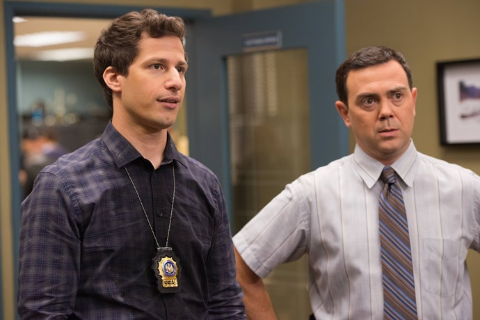 Jake Peralta and Charles Boyle