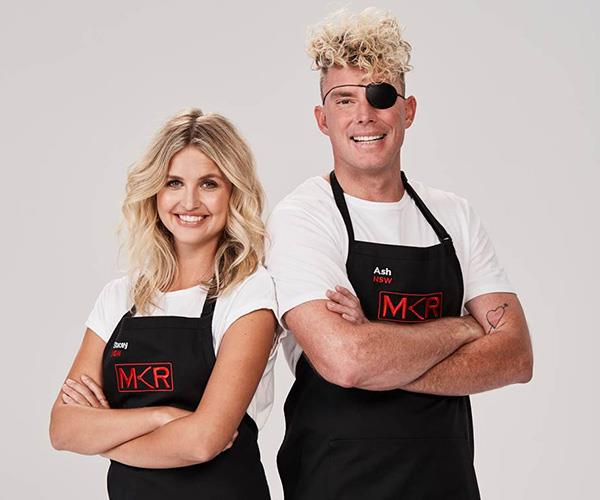The duo during their time on *MKR*.