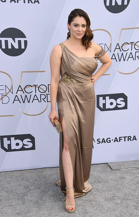 """I will be at the @SAGawards today representing the @sagaftraFOUND. The #SAGAwards isn't just another reason to wear diamonds and Spanx- it also raises money for the #sagaftrafoundation which provides a safety net for performing artists,"" actress Rachel Bloom tweeted ahead of the evening."