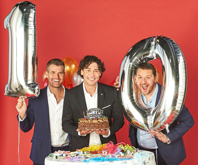 My Kitchen Rules judges Pete Evans, Colin Fassnidge and Manu Feildel.