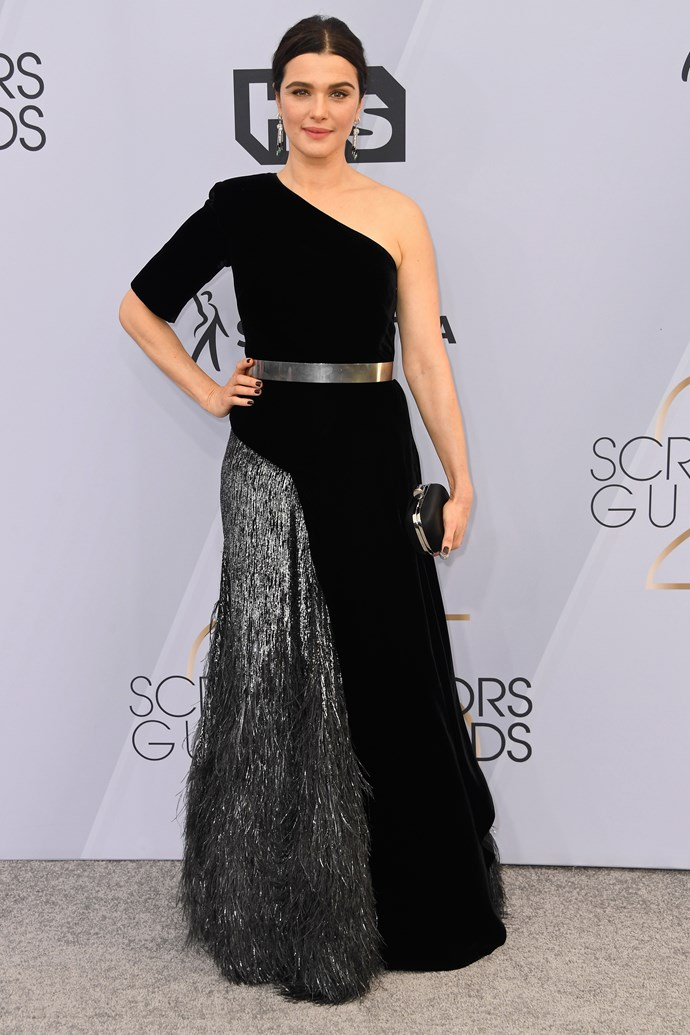 Rachel Weisz in Givenchy Haute Couture.