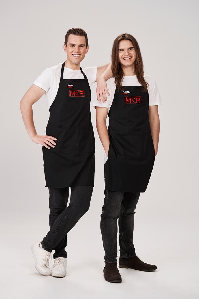NSW brothers Josh and Austin are set to ruffle some feathers on *MKR.*