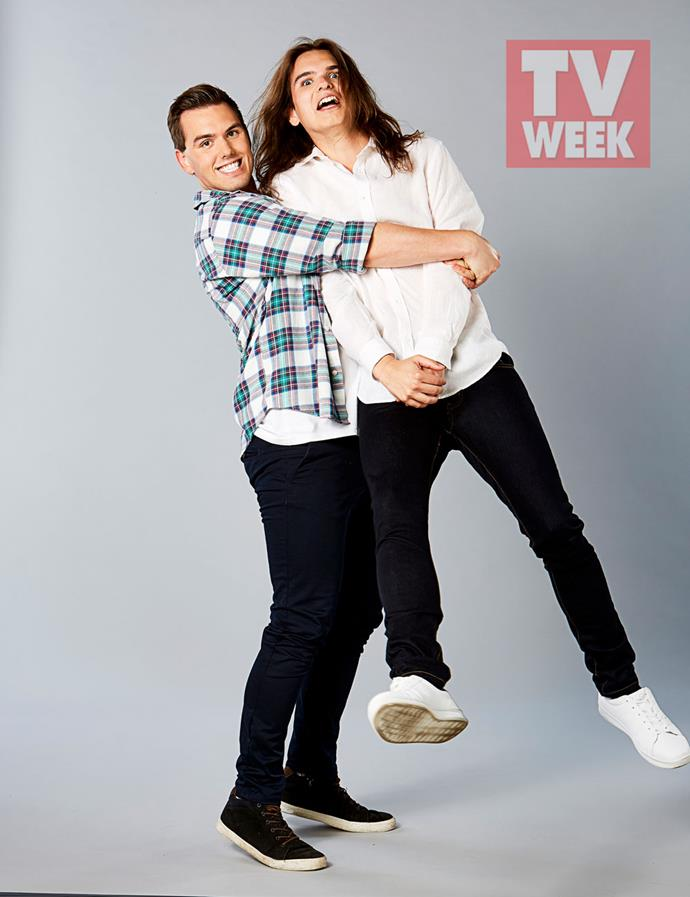 Josh and Austin know they'll get people talking on *MKR.*