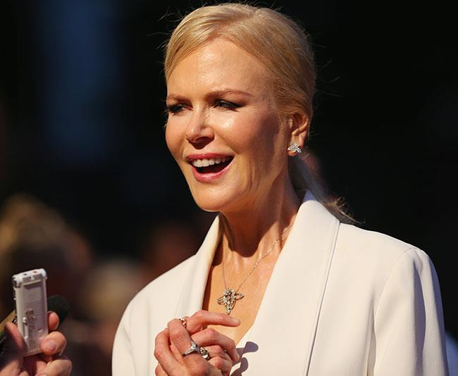Nicole Kidman was thrilled to bring her latest film Down Under. *(Image: Getty)*