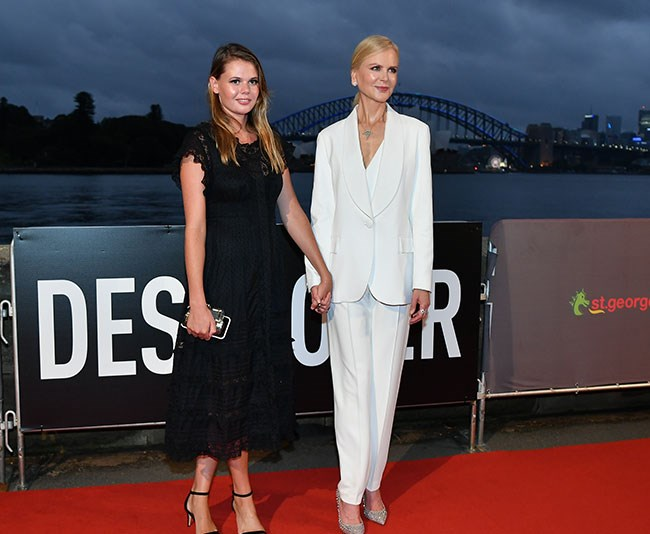 Her favourite plus one! Nicole and Lucia have attended several red carpets together. *(Image: Media Mode)*