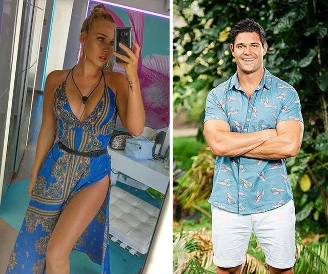 Got a text! We have a hot new reality TV couple! *(Images: Instagram @edyndenise/Channel Ten)*