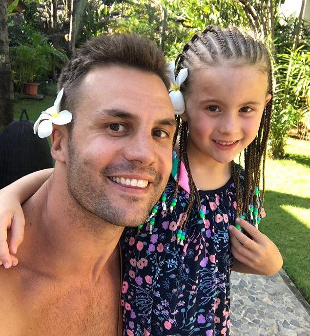 The former footballer and his daughter Remi have a very close bond. *(Image: Instagram / @therealbeauryan)*