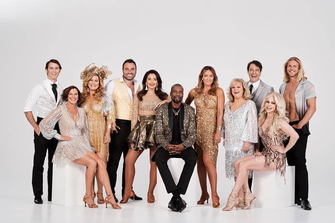 Meet the Dancing With The Stars 2019 cast (Image: Network 10).