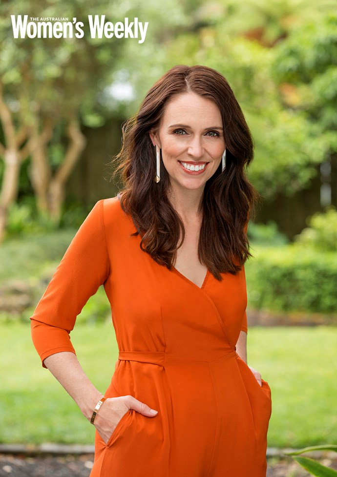Jacinda is the first female PM to birth while still in office. *(Image: Jae Frew/AWW)*