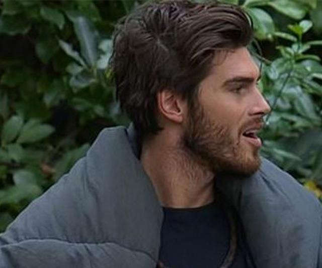 Revealing all: Justin Lacko hasn't held back from sharing his thoughts in the *I'm A Celeb* jungle. *(Image: Network Ten)*