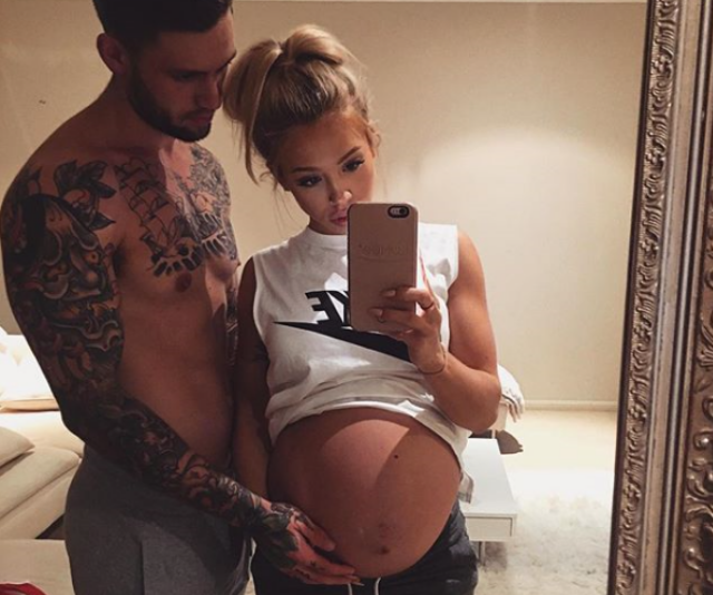 Hembrow famously documented her pregnancies to her huge social media following. *Image: Instagram/TammyHembrow*