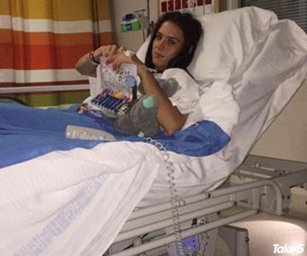 I ended up in hospital.
