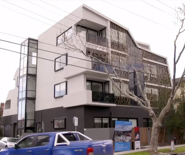 Mark's house of horrors looks perfectly normal from the outside but what lies beneath will disturb you. *(Image: Channel Nine)*