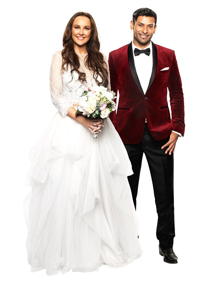 **MELISSA & DINO** <br><br> The love experts must have been feeling adventurous when they paired spiritual and calm Dino with wild and loud Melissa. However, romance could still blossom for the newlywed pair.  <br><br> Though Melissa, 38, told the cameras she didn't feel much chemistry with Dino, 34, on their wedding day, she did say she was looking forward to finding out more about him. <br><br> Romance aside, this couple have already proven themselves to be comedic gold on the dating show. We'll be keeping a close eye on these guys.