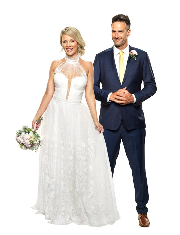 """**JESSIKA & MICK** <br><br> Pairing city-girl and part-time model Jessika, 26 with country boy Mick, 31, may have seemed like a bold move, but the chemistry was instant between the pair during their wedding ceremony. <br><br> """"I think he is the bloody bees knees!"""" Jessika remarked after their ceremony. I instantly felt comfortable with him."""" <br><br> """"I feel like a bloody happy school kids,"""" Mick added. <br><br> A tasteless speech from Mick's best man threatened to ruin their chemistry, however it seems the groom has managed to make things up to his bride after that small stumble at the wedding. For now."""