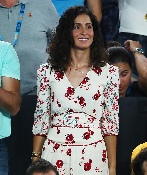 Xisca recently attended the Australian Open to see her fiancee compete. *(Image: Getty)*