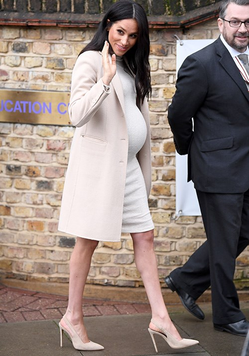 """The Duchess [visited an animal charity](https://www.nowtolove.com.au/royals/british-royal-family/meghan-markle-puppies-mayhew-pet-charity-53590