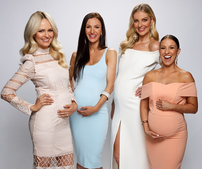 Meet the Yummy Mummies: Jane Scandizzo, Maria Di Geronimo, Lorinska Merrington, and Rachel Watts.
