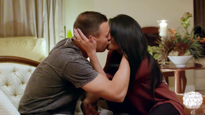 Nic and Cyrell are closer than ever (Image: Nine Network).