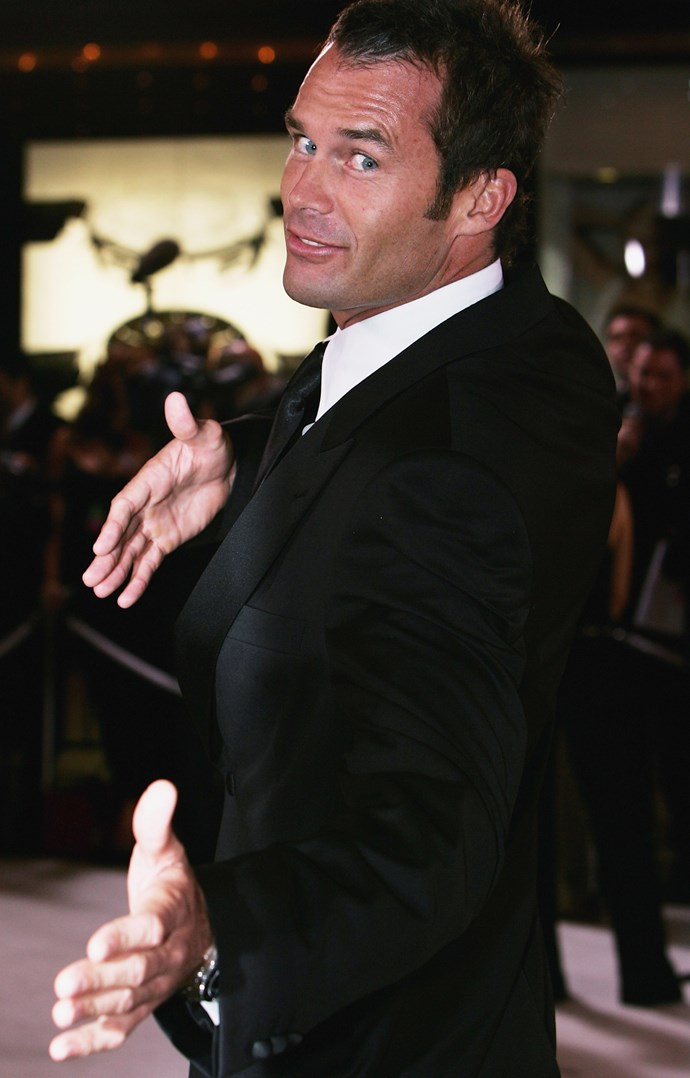 Tom Williams at the 2005 Logies. *(Image: Getty)*