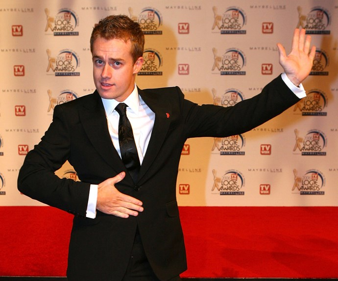 Grant Denyer at the 2006 Logie Awards. *(Image: Getty)*