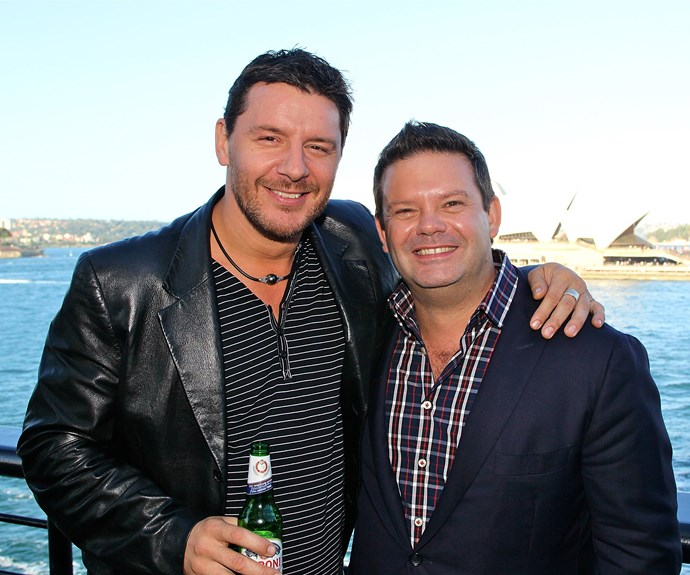 Manu with *MasterChef* judge Gary Mehigan in 2011. *(Image: Getty)*