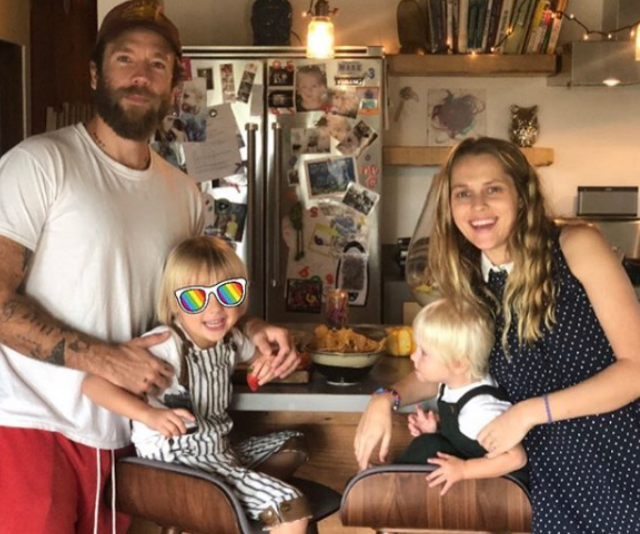 Teresa and husband, American film director, Mark Webber have moved back to the Adeliade Hills for the birth of their daughter. *Image: Instagram/Teresa Palmer.*