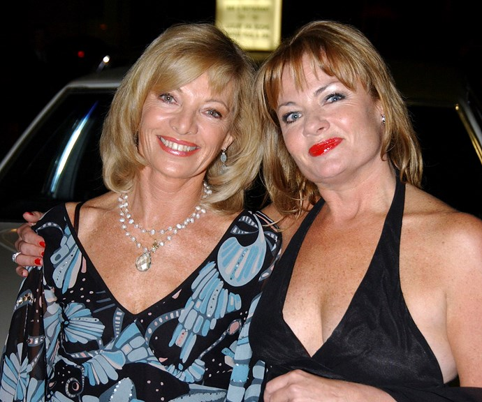 Carmen and Paula pictured at a film premiere in 2004. *(Image: Getty)*