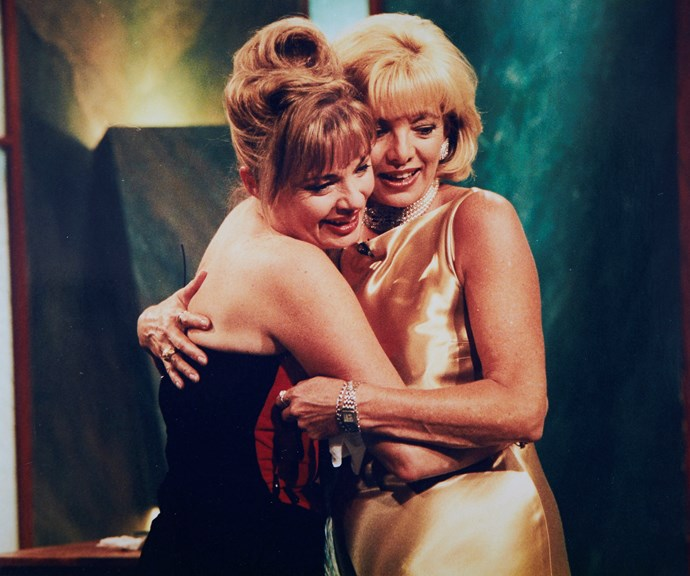 Carmen and Paula at the peak of their acting careers. *(Image: Supplied)*