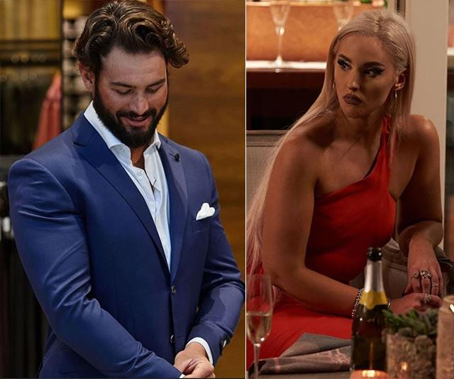 It's over before it began for Sam and Elizabeth. *(Images: Channel Nine)*