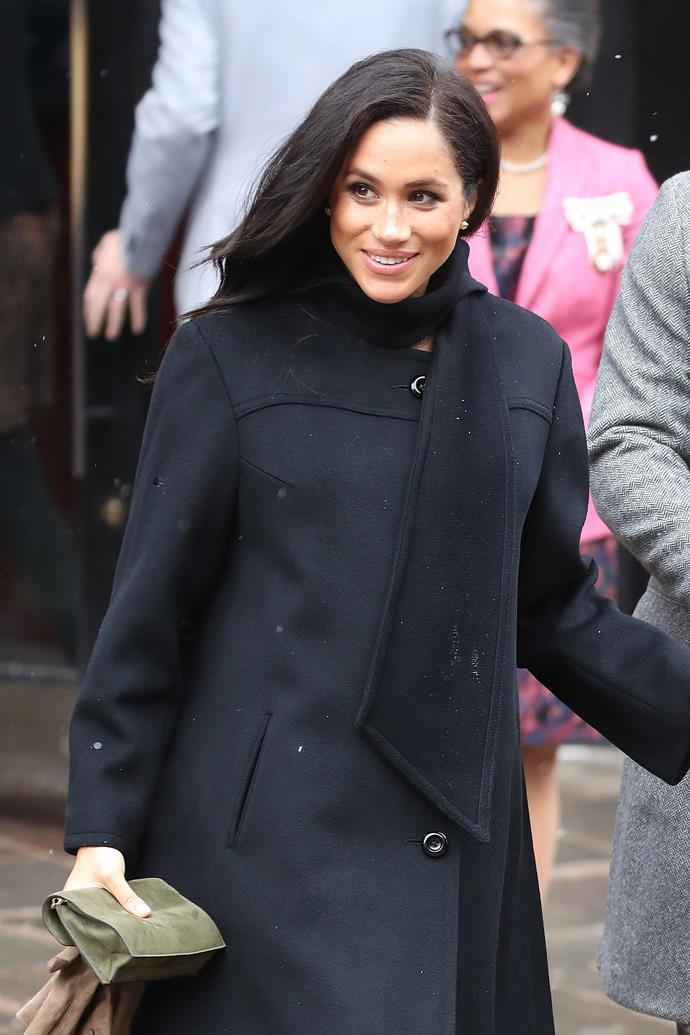 Meghan is due to give birth in autumn. *(Source: Getty)*