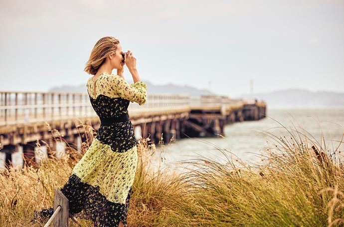 Brooke Testoni snaps up the beautiful views at Petone beach and wharf.