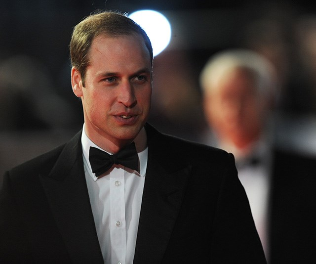 In 2014, William flew solo for the awards event, looking every bit the dapper Prince we know him to be! *(Source: Getty)*