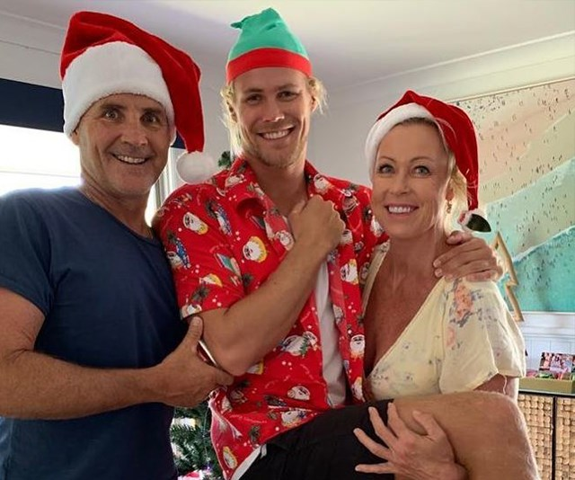 Lisa celebrated Christmas with her entire family, including ex-husband Grant Kenny. *(Image: Instagram @lisacurry)*