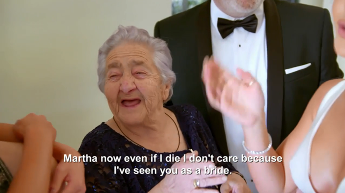 The cutest Grandmother of all time? We think so! (Image: Nine Network).