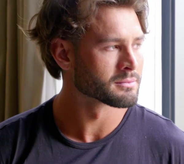 Sam Ball finds out the heartbreaking news that his ex-girlfriend's mum has passed away. *(Source: Channel 9)*