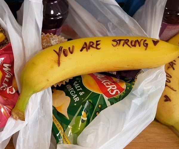 Are the bananas offensive? *(Image: Instagram @kensingtonroyal)*