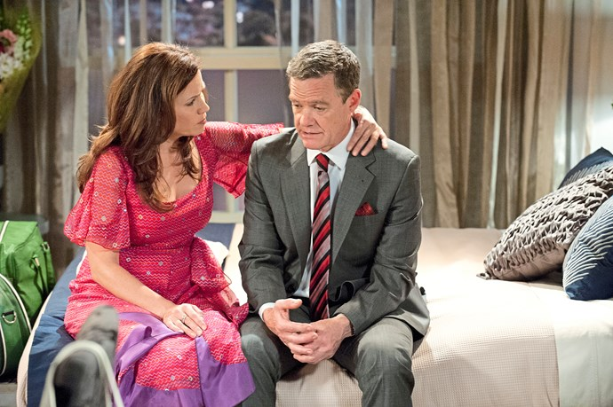 Jane as Rebecca Robinson on *Neighbours* (Image: Network 10)
