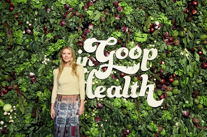 Gwyneth at the In Goop Health summit (Image: Getty).