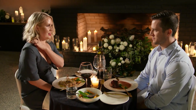 Lauren and Matthew had a serious conversation at dinner.