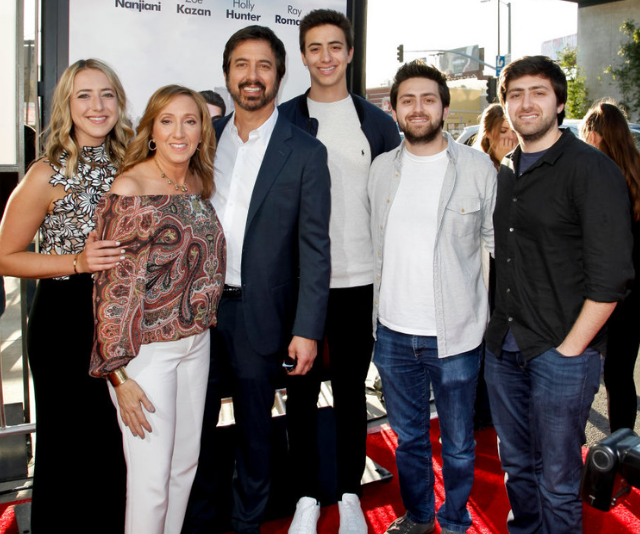 Ray Romano's family have been supporting him on and off screen throughout his illustrious career. *Image: Getty.*