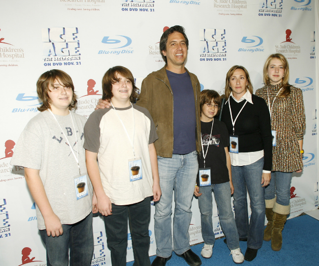 The Romano kids look set for careers in the entertainment industry too. *Image: Getty.*