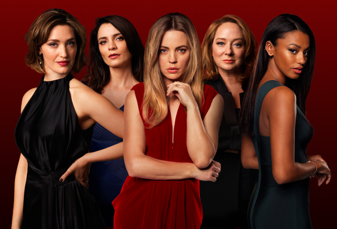 Meet the stars of *Bad Mothers* (Image: Nine Network).