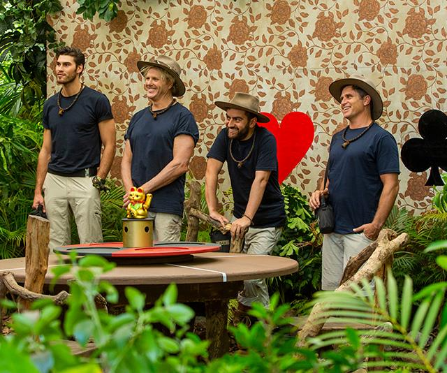 Dermott struck up some strong connections with his fellow campers. *(Image: Network Ten)*