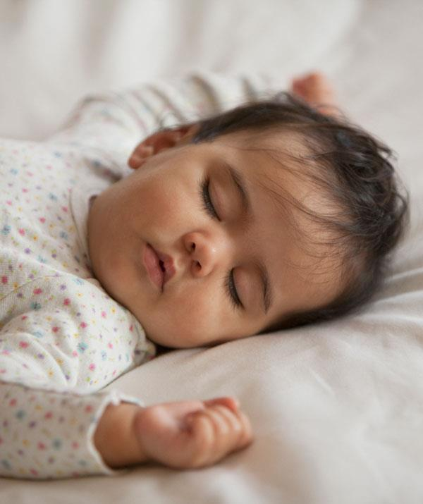 And bub is finally asleep... hallelujah. *(Image: Getty Images)*