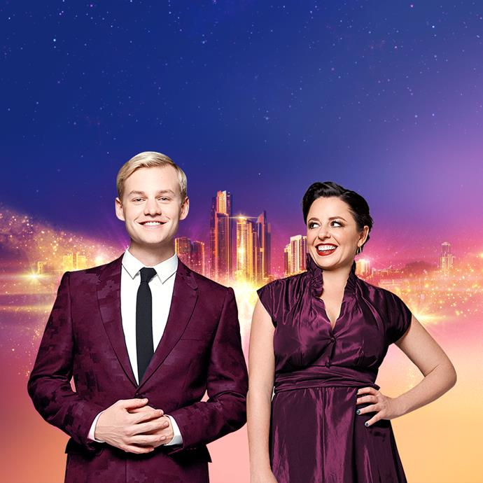 Joel and Myf will be hosting *Eurovision - Australia Decides.*