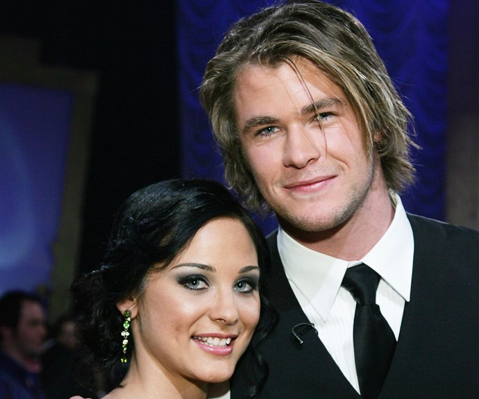 Chris Hemsworth and his dance partner Abbey Ross. *(Image: Getty)*